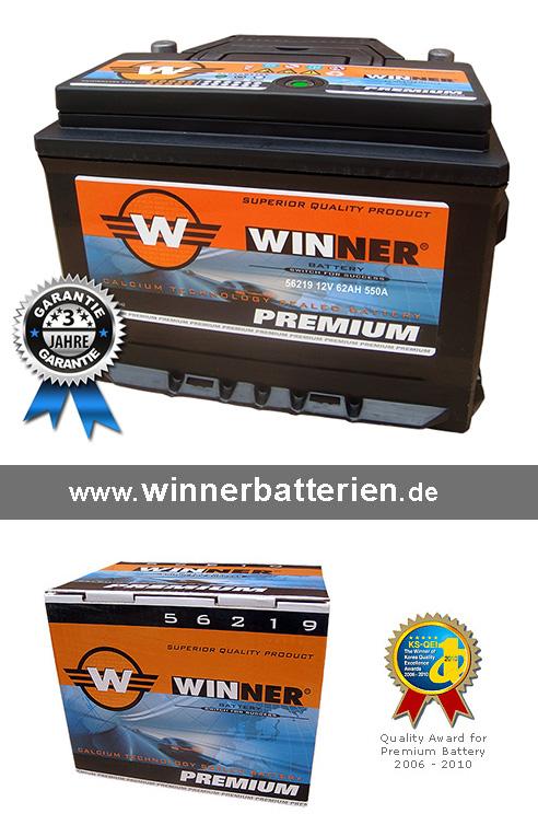 autobatterie 62ah 550a starterbatterie statt 60ah 61ah. Black Bedroom Furniture Sets. Home Design Ideas