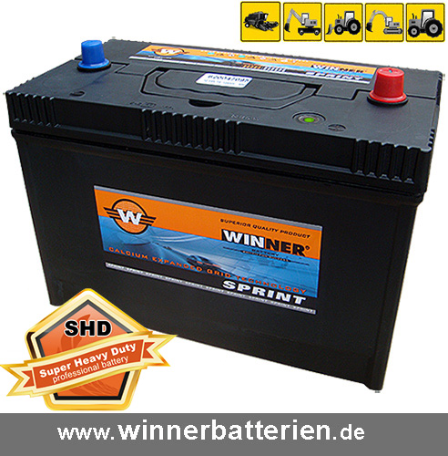 lkw batterie 120ah 950a en starterbatterie schlepper. Black Bedroom Furniture Sets. Home Design Ideas