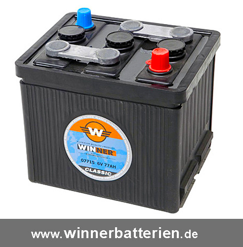 oldtimer batterie 6v 84ah autobatterie vw k fer trabant. Black Bedroom Furniture Sets. Home Design Ideas