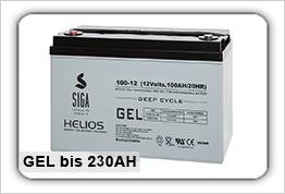 GEL Versorgungsbatterien