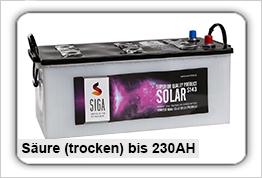 Blei-Säure Trocken Versorgungsbatterien