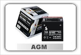 Motorrad Batterien BIKE AGM