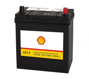 Shell Asia 35Ah Autobatterie 53520