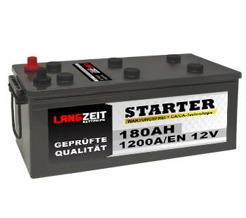 Langzeit LKW Batterie 180Ah