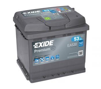 Exide Premium Carbon Boost Autobatterie 53Ah / 12V / 540A