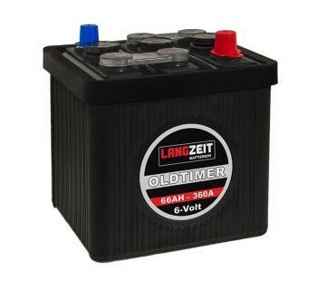 LANGZEIT Oldtimer Batterie 66Ah / 6V