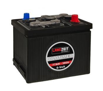 LANGZEIT Oldtimer Batterie 77Ah / 6V