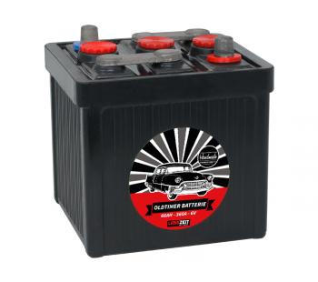 LANGZEIT Handarbeit Oldtimer Batterie 66Ah / 6V