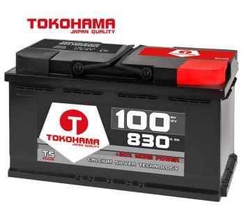 Tokohama Autobatterie 12V / 100AH / 830A/EN