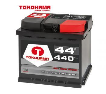 Tokohama  Autobatterie 12V 44AH 440A/EN