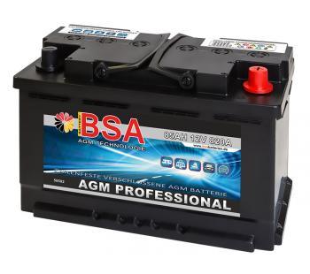 AGM Solarbatterie 85Ah