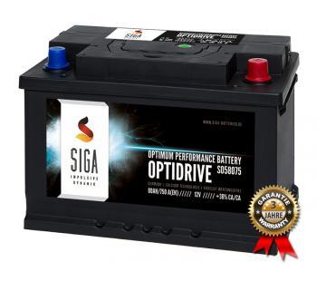 SIGA Autobatterie 80Ah / 750A