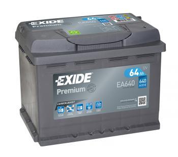 Exide Autobatterie 64Ah EA640