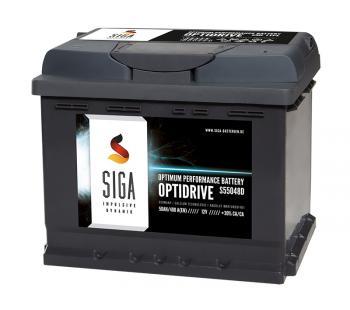 SIGA OptiDrive 50Ah 12V Autobatterie