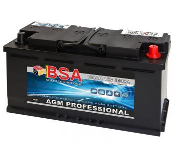 BSA AGM Professional 120Ah Solarbatterie