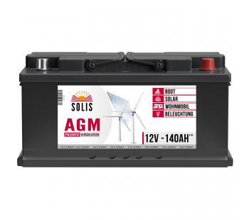 Solis AGM Batterie 140Ah