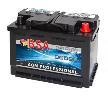AGM Professional 75Ah Solarbatterie