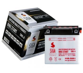 Motorrad Batterie YB9L-B, CB9L-B 9Ah 12V