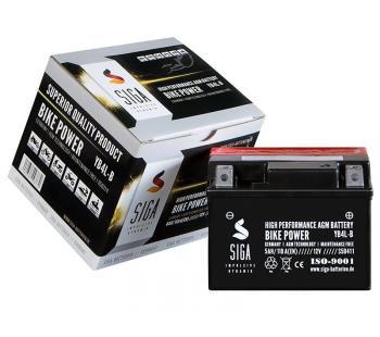 5Ah AGM Motorrad Batterie YB4L-B, CB4L-B