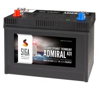 SIGA Admiral 100Ah 12V