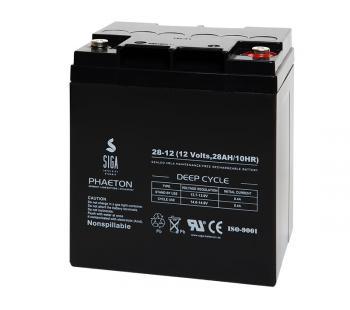 AGM 28Ah 12V Blei Batterie Akku