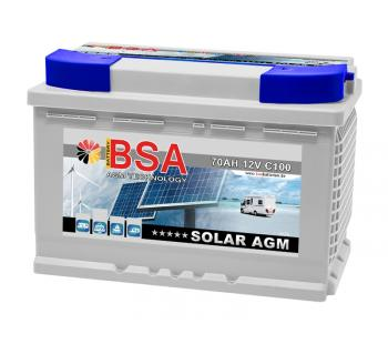 AGM VRLA Wohnmobil-Batterie 70Ah BSA