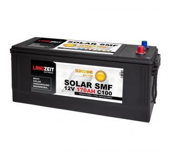SOLAR SMF 170Ah Solarbatterie Langzeit
