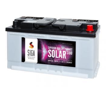 SOLAR 100Ah Semi-Traktionsbatterie SIGA