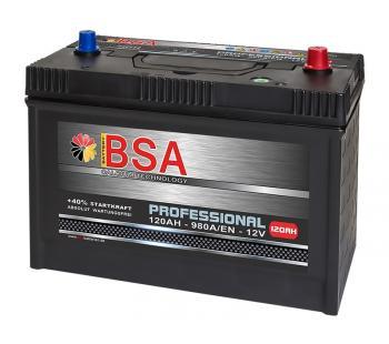 BSA SMF LKW Batterie 120Ah