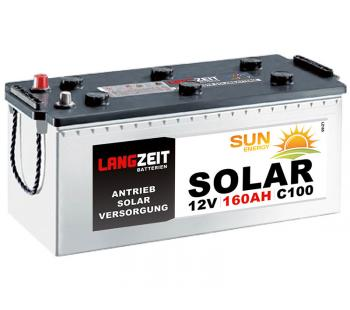 Langzeit Solar 160Ah Versorgungsbatterie