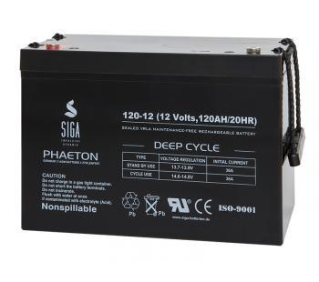 Phaeton AGM 120Ah Versorgungsbatterie
