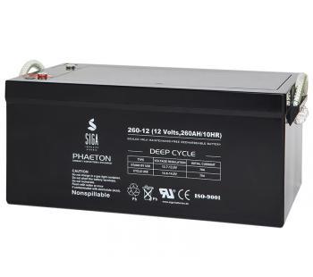 Phaeton AGM 260Ah Versorgungsbatterie