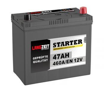 Langzeit Autobatterie ASIA 47Ah 12V PPR