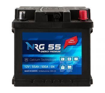 NRG Autobatterie 55Ah 12V