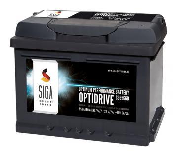 SIGA OptiDrive 65Ah 12V Autobatterie