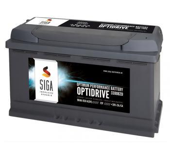 SIGA OptiDrive 90Ah 12V Autobatterie
