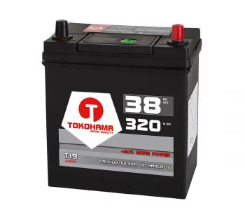 Autobatterie ASIA 38Ah 12V PPR
