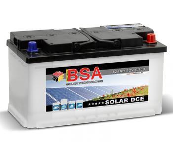 SOLAR 125Ah Semi-Traktionsbatterie