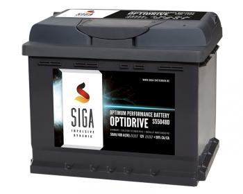 siga optidrive autobatterie 50ah 480a 12volt h chste. Black Bedroom Furniture Sets. Home Design Ideas
