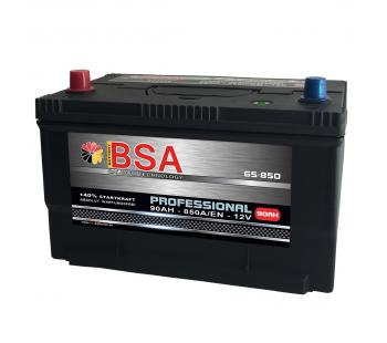 BSA US Autobatterie 90Ah 850A/EN USA Batterie 65-850 statt 80Ah 85Ah
