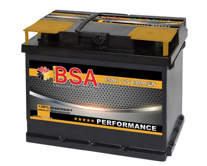 bsa performance 62ah autobatterie. Black Bedroom Furniture Sets. Home Design Ideas