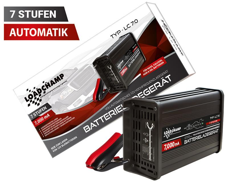 automatik ladeger t 7a 12v agm gel calcium. Black Bedroom Furniture Sets. Home Design Ideas