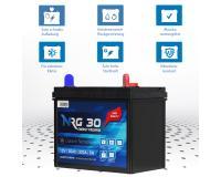 NRG Rasentraktor Batterie 30Ah - 320A PR