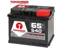Tokohama T2 Autobatterie 65Ah 540A