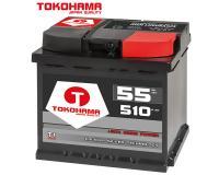 Tokohama T1 Autobatterie 55Ah 510A