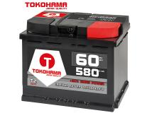Tokohama T2 Autobatterie 60Ah 580A