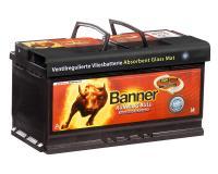 Autobatterie Banner 105Ah AGM Running Bull