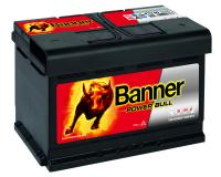 Autobatterie Banner Power Bull 72Ah