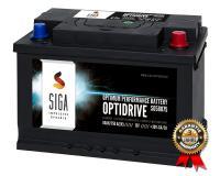 SIGA Autobatterie 80Ah 750A