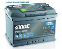 Exide Premium Autobatterie 77Ah 12V